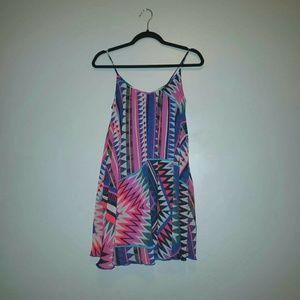 Express Aztec Print Dress Size XS LIKE NEW